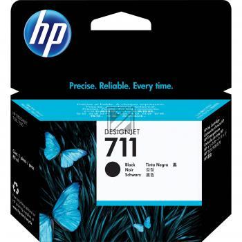 HP Tintenpatrone schwarz (CZ133A, 711)