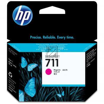 HP Tintenpatrone magenta (CZ131A, 711)