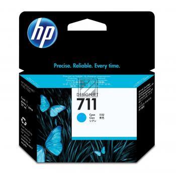 HP Tintenpatrone cyan (CZ130A, 711)