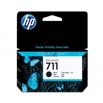 HP Tintenpatrone schwarz (CZ129A, 711)