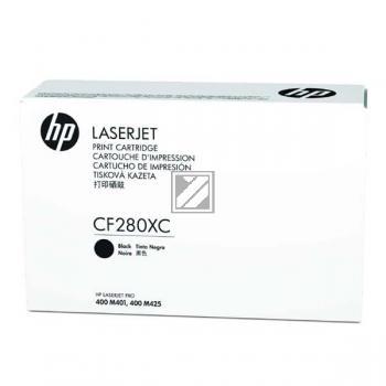 Toner f. HP LaserJet Pro 400 M401/M425 [CF280XC|PrintPlus] HC Nr.80X black