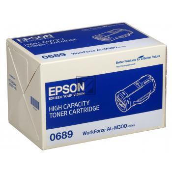 Epson Toner-Kit schwarz (C13S050689, 0689)