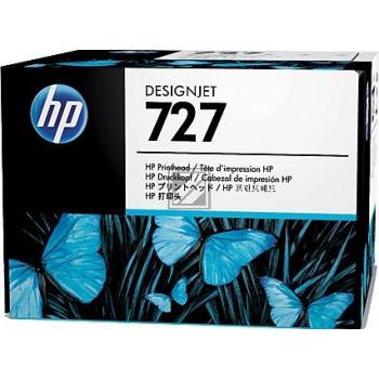 HP Druckkopf cyan grau magenta (B3P06A, 727)