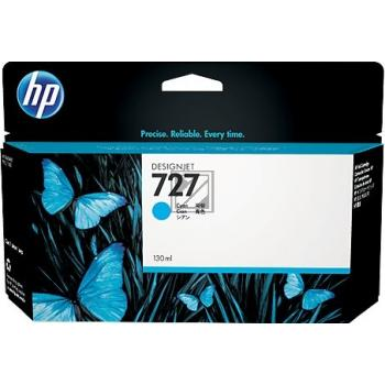 HP Tintenpatrone cyan HC (B3P19A, 727)