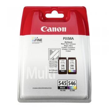 Canon Tintenpatrone cyan/gelb/magenta schwarz (8287B005, CL-546 PG-545)
