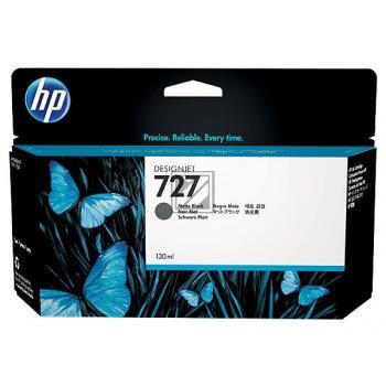 HP Tintenpatrone schwarz matt (B3P22A, 727)
