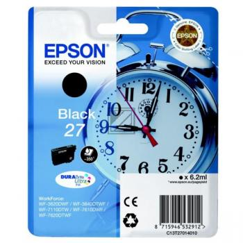 Epson Tintenpatrone schwarz (C13T27014012, T2701)