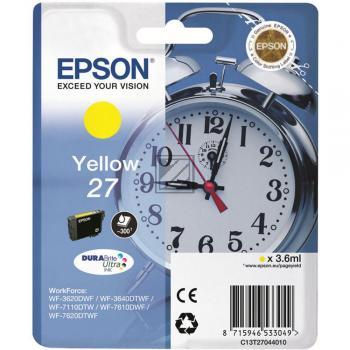 Epson Tintenpatrone gelb (C13T27044012, T2704)