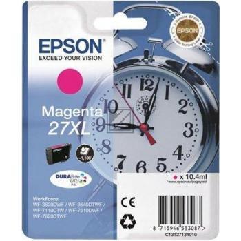 Epson Tintenpatrone magenta HC (C13T27134012, T2713)