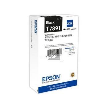 Epson Tintenpatrone schwarz HC plus (C13T78914010, T7891)