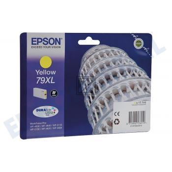 Epson Tintenpatrone gelb HC (C13T79044010, T7904)