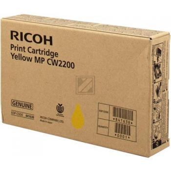 Tinte f. Ricoh Aficio MP CW2200 [841638] yellow