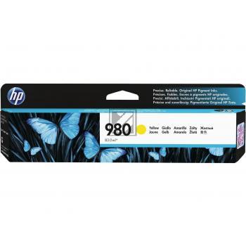 HP Tintenpatrone gelb (D8J09A, 980)