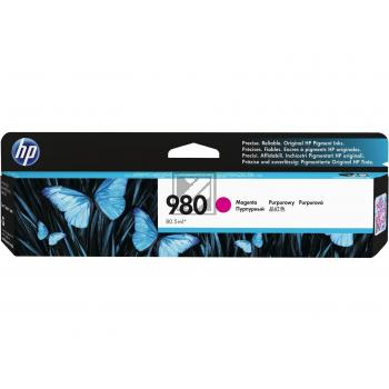 HP Tintenpatrone magenta (D8J08A, 980)