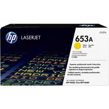 HP Toner-Kartusche gelb (CF322A, 653A)
