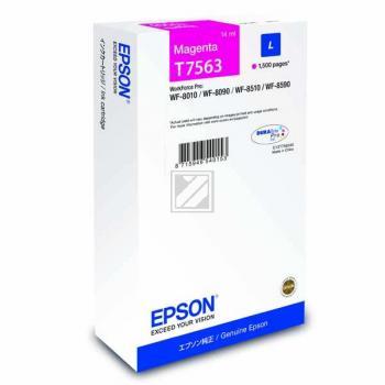 Epson Tintenpatrone magenta (C13T756340, T7563)