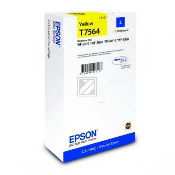 Epson Tintenpatrone gelb (C13T756440, T7564)