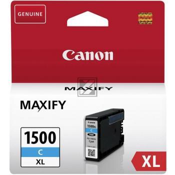 Canon Tintenpatrone cyan HC (9193B001, PGI-1500XLC)
