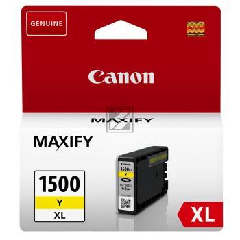 Canon Tintenpatrone gelb (9195B001, PGI-1500XLY)