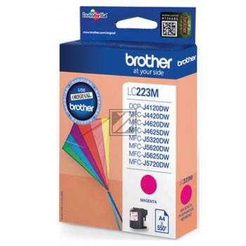 Brother Tintenpatrone magenta (LC-223M)