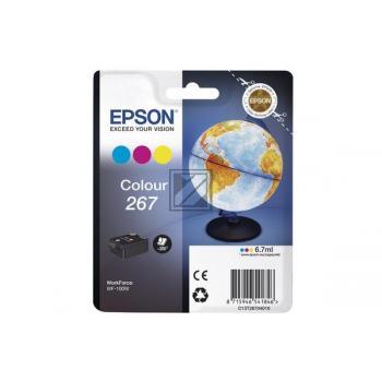 Epson Tintenpatrone cyan/gelb/magenta (C13T26704010, T2670)
