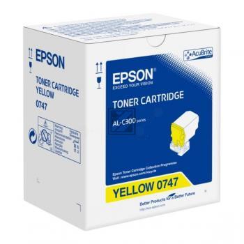 Epson Toner-Kit gelb (C13S050747, 0747)