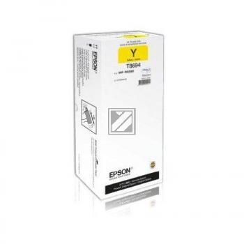 Tinte f. Epson WorkForce Pro WF-R8590 [T869440] HC+ yellow