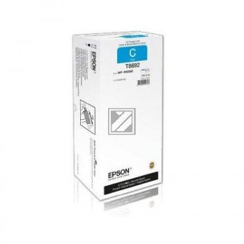 Tinte f. Epson WorkForce Pro WF-R8590 [T869240] HC+ cyan
