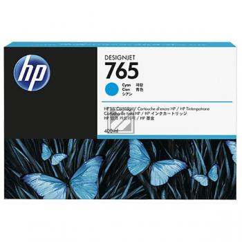 Tinte f. HP Designjet T 7200 [F9J52A] Nr.765 cyan