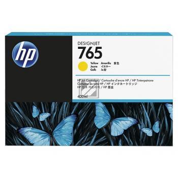 Tinte f. HP Designjet T 7200 [F9J50A] Nr.765 yellow
