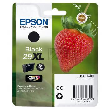 Epson Tintenpatrone schwarz (C13T29914010, T2991)