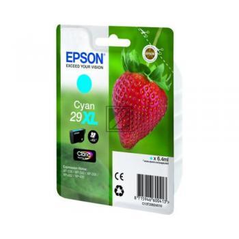 Epson Tintenpatrone cyan HC (C13T29924010, T2992)