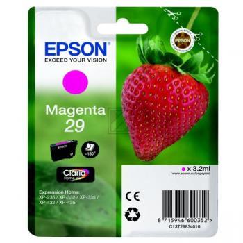 Epson Tintenpatrone magenta (C13T29834010, T2983)