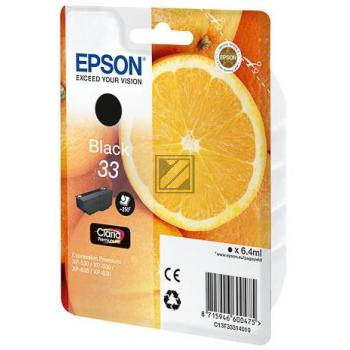 Epson Tintenpatrone schwarz (C13T33314010, T3331)