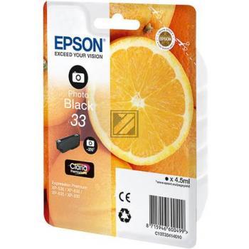 Epson Tintenpatrone photo schwarz (C13T33414010, T3341)
