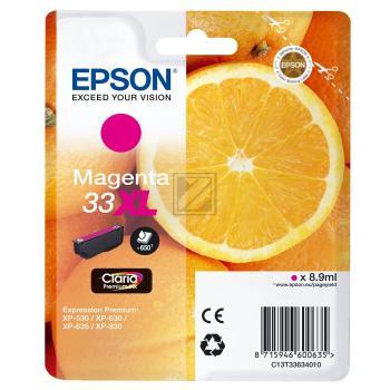 Epson Tintenpatrone magenta HC (C13T33634010, T3363)