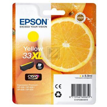 Epson Tintenpatrone gelb HC (C13T33644010, T3364)