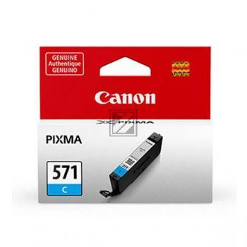 Canon Tintenpatrone cyan (0386C001, CLI-571C)