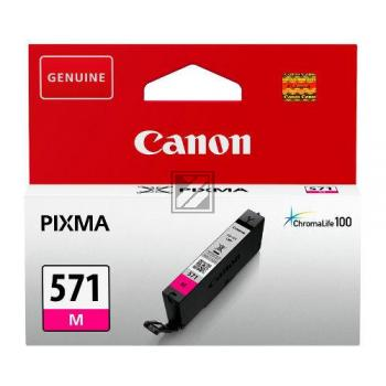 Canon Tintenpatrone magenta (0387C001, CLI-571M)