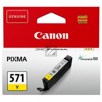 Canon Tintenpatrone gelb (0388C001, CLI-571Y)