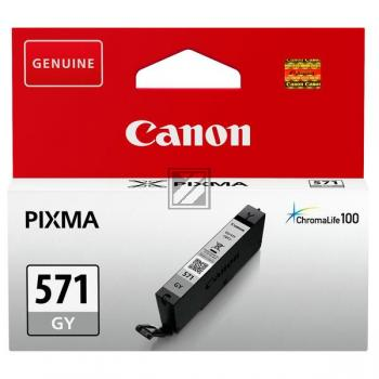 Canon Tintenpatrone grau (0389C001, CLI-571GY)