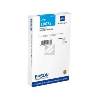Epson Tintenpatrone cyan HC (C13T907240, T9072)
