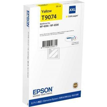 Epson Tintenpatrone gelb HC (C13T907440, T9074)