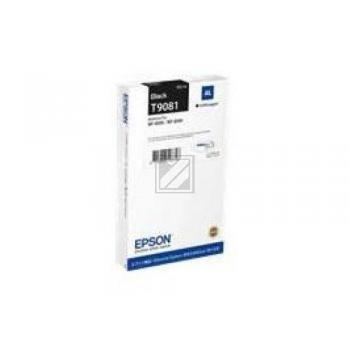 Epson Tintenpatrone schwarz (C13T908140, T9081)