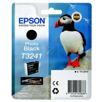 Epson Tintenpatrone photo schwarz (C13T32414010, T3241)
