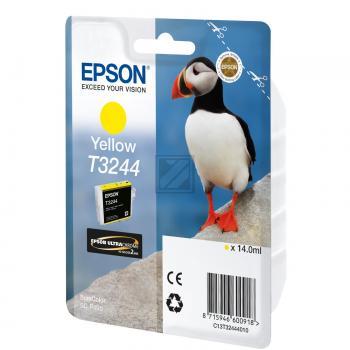 Epson Tintenpatrone gelb (C13T32444010, T3244)