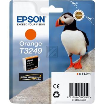 Epson Tintenpatrone orange (C13T32494010, T3249)
