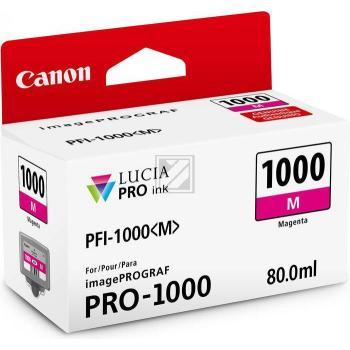 Canon Tintenpatrone magenta (0548C001, PFI-1000M)