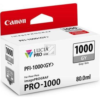 Canon Tintenpatrone grau (0552C001, PFI-1000GY)