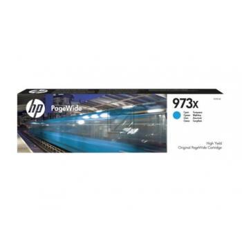 HP Tintenpatrone cyan HC (F6T81AE, 973X)